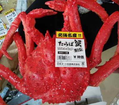 永冠螃蟹定制案例