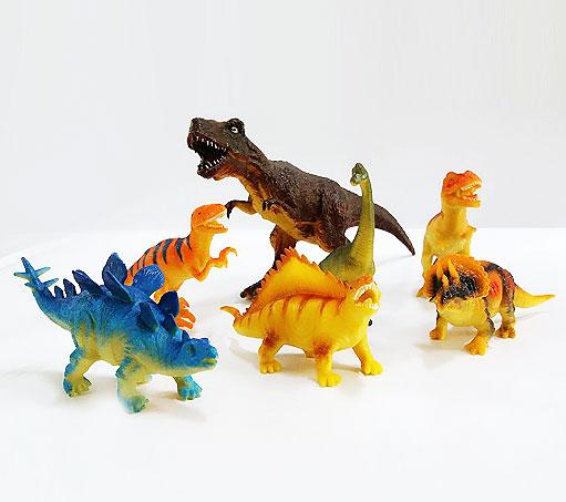 搪胶玩具小恐龙