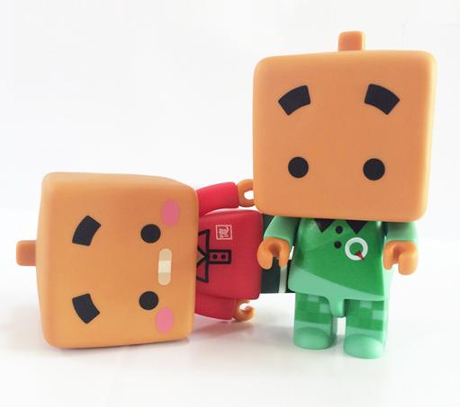 搪胶玩具张小盒系列