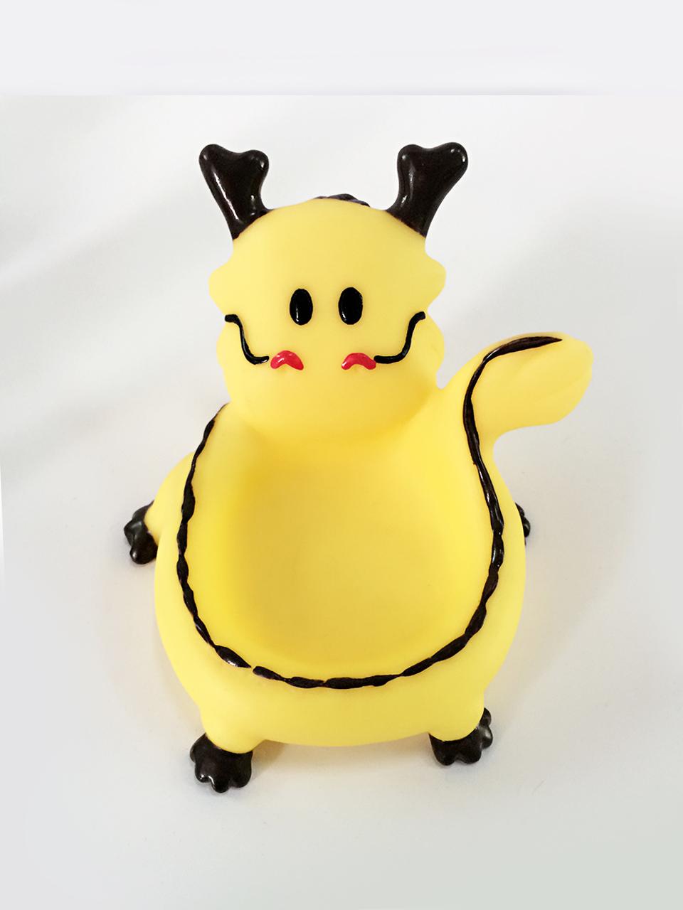 黄色鹿仔手机座