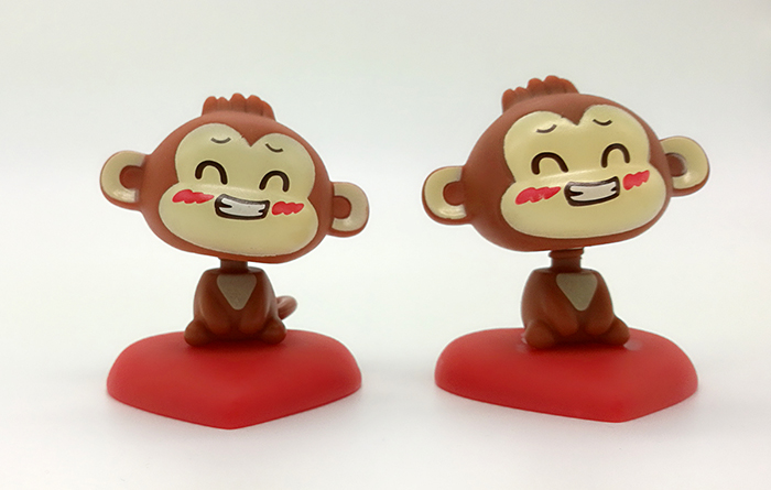 摇头公仔小猴